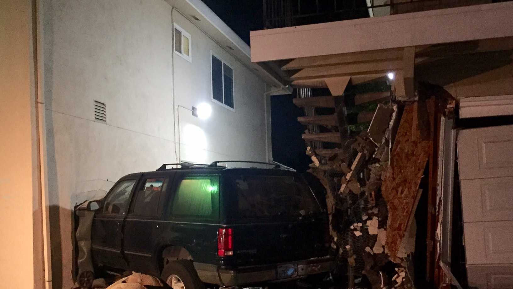 South Sacramento apartment crash