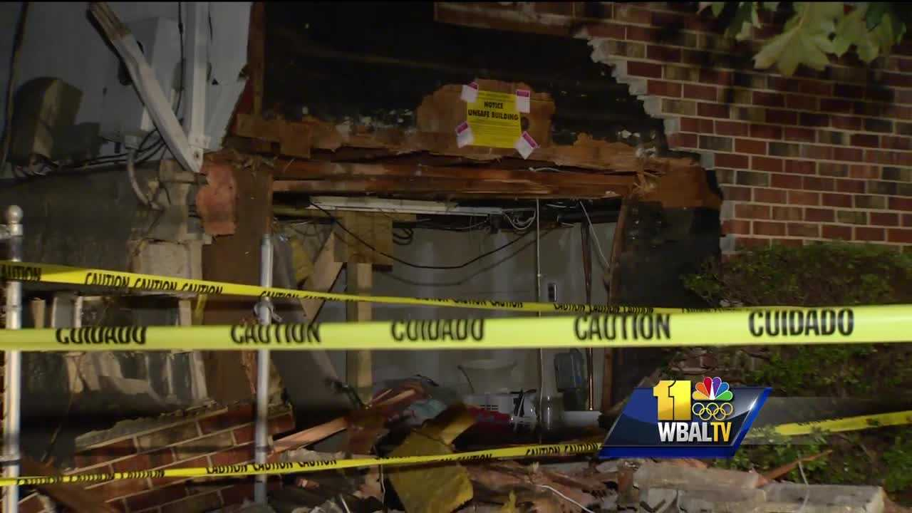 SUV slams into Anne Arundel County home
