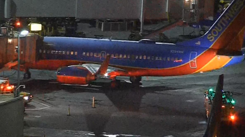 Emergency landing in Los Angeles
