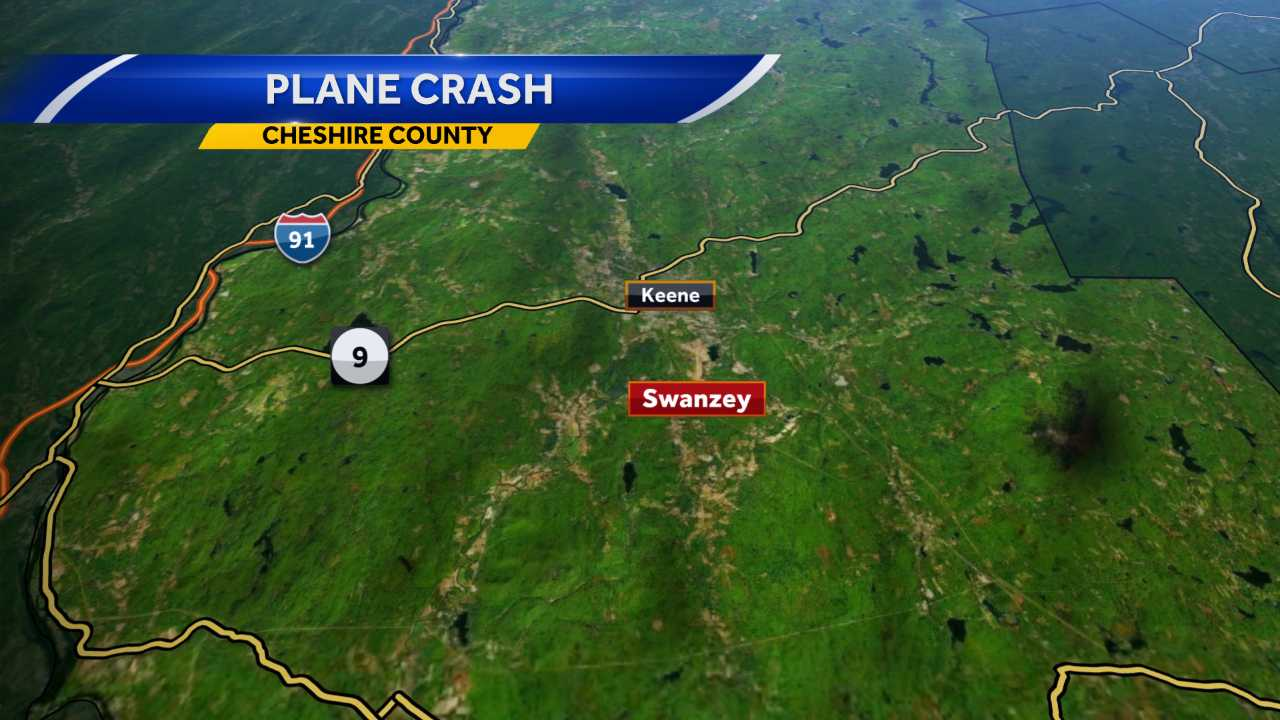 Officials investigating plane crash in Swanzey