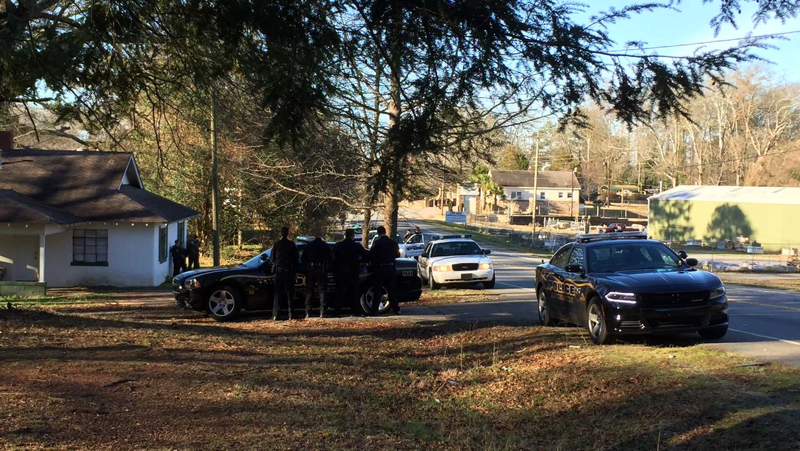 SWAT at Anderson home