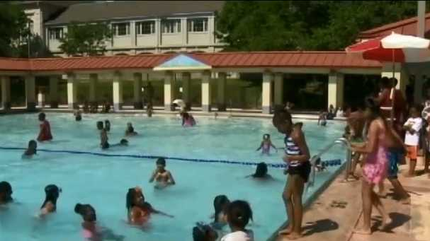 Olympic swimmers promote children's swim lessons in Florida