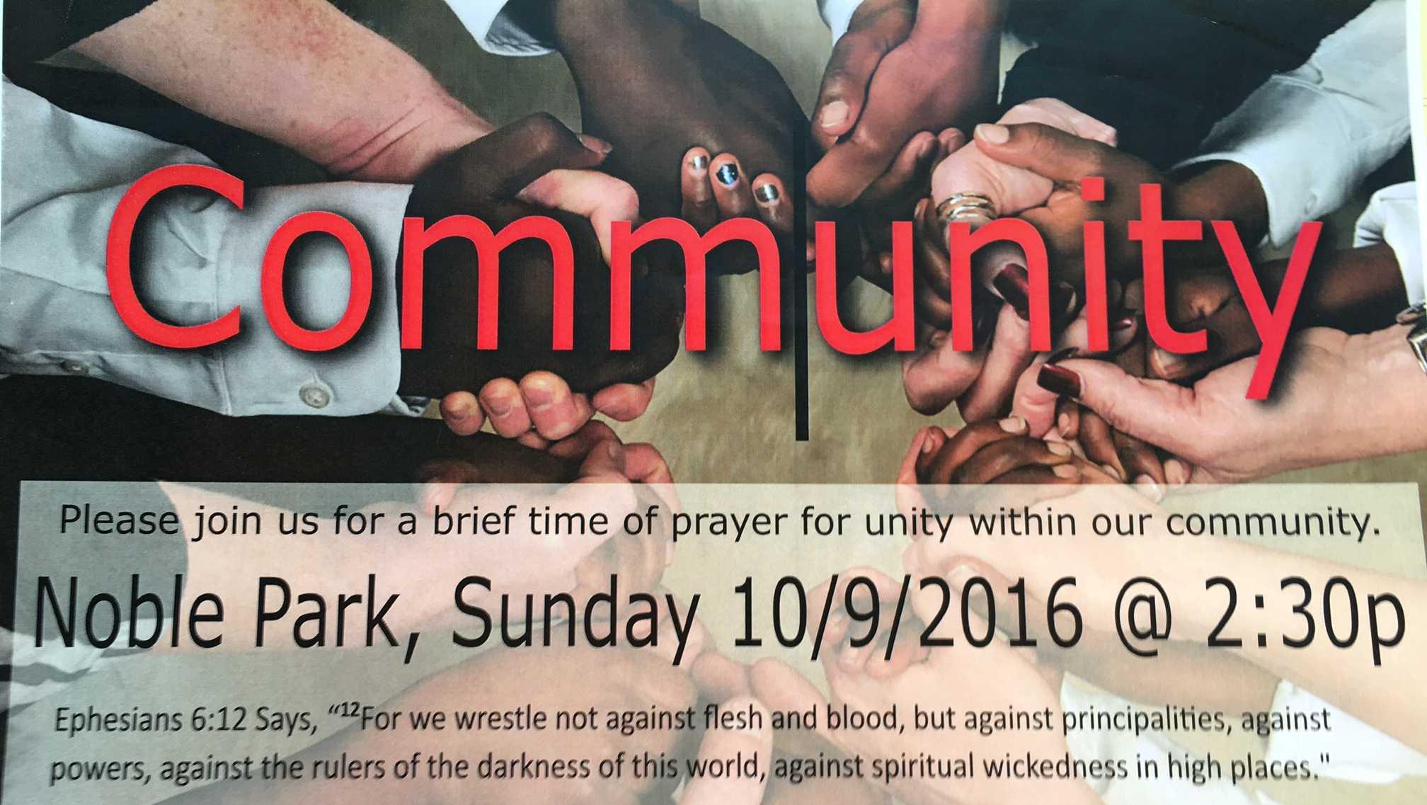 Sylacauga prayer vigil