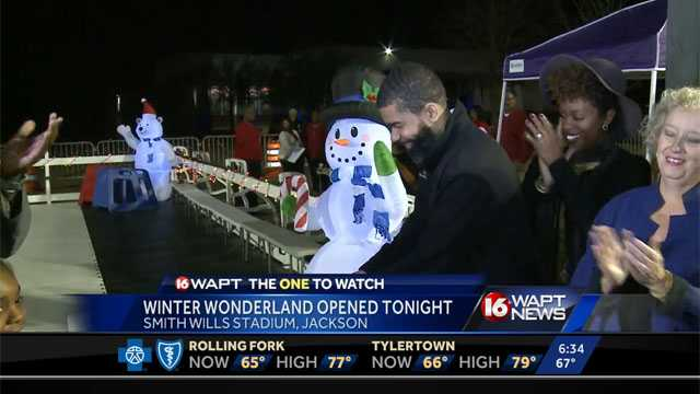 Winter Wonderland ice skating comes to Jackson