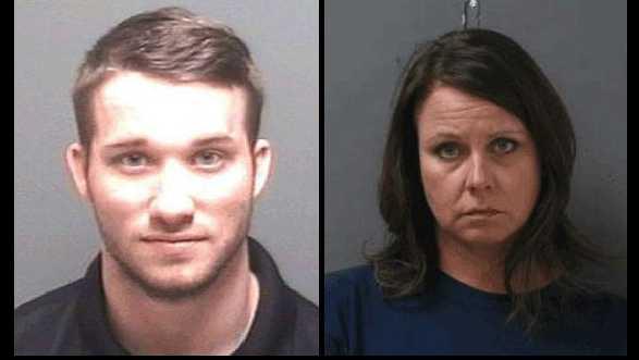 Teachers David Solomon and Carrie Witt