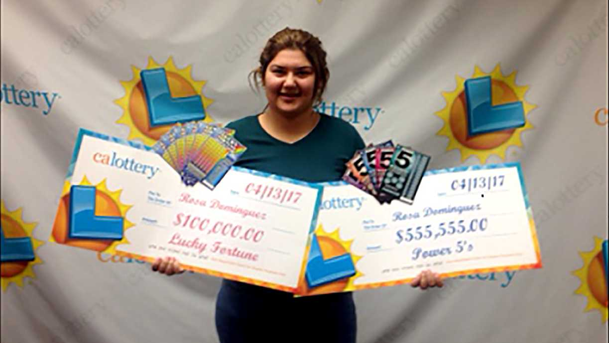 Rosa Dominguez, 19, won more than $600,000 from two scratcher tickets within 1 week, lottery officials said.