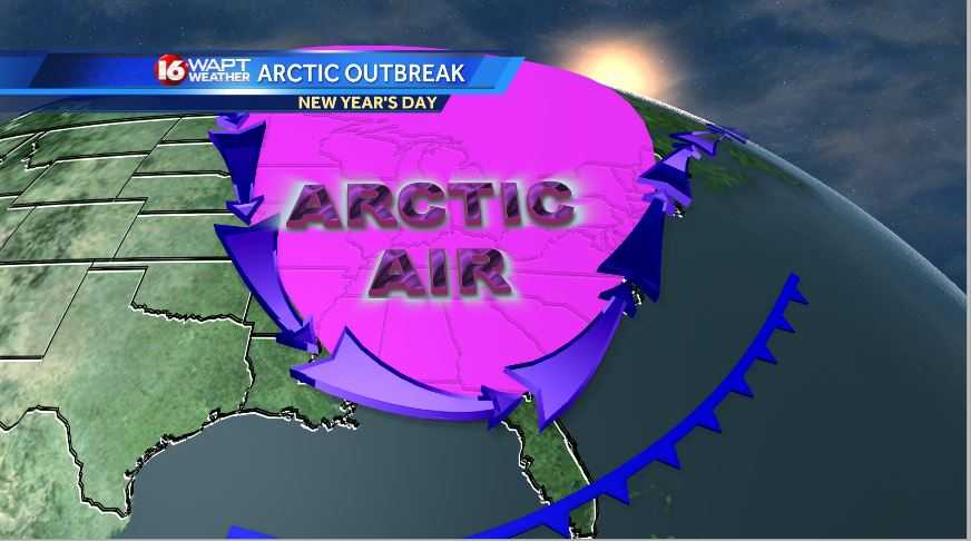 Arctic Blast expected into the New Year