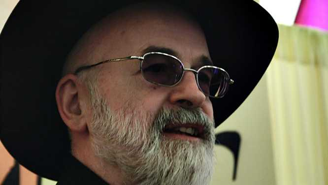 Late fantasy author Terry Pratchett.
