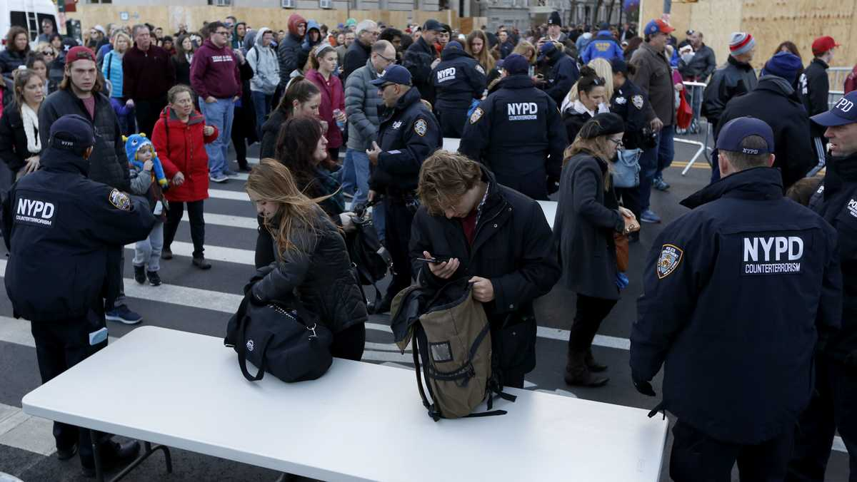 Security tight for Thanksgiving parade in terror-wary NYC