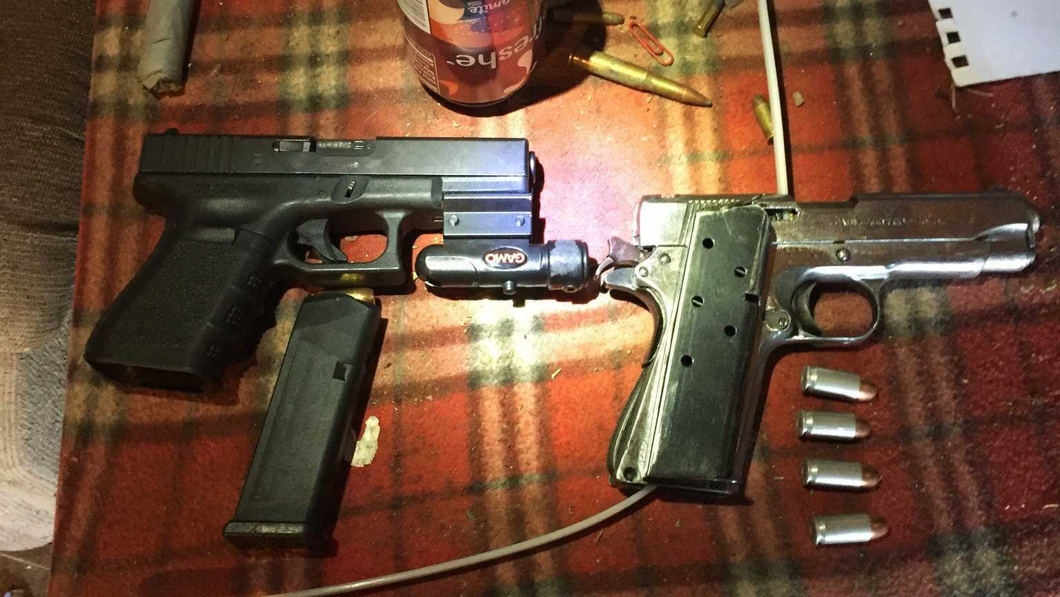 Guns seized in King City