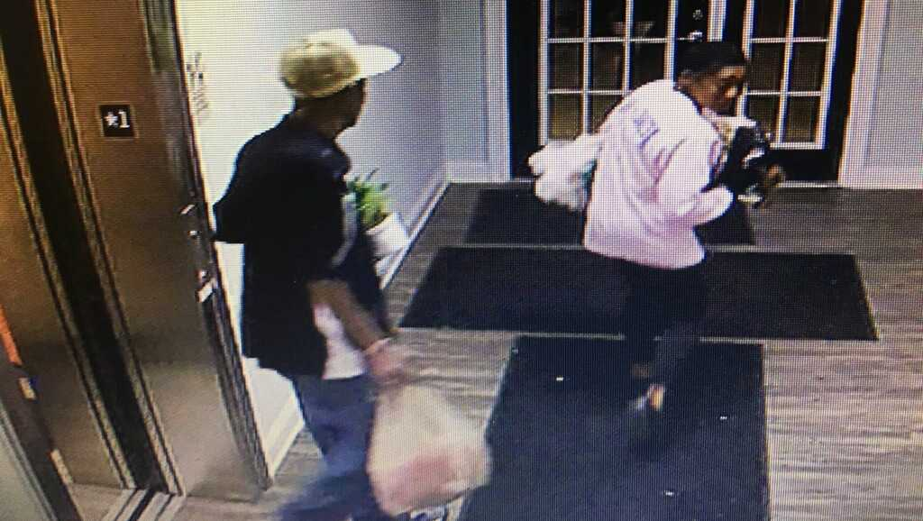 Surveillance image from The Manor at West Greenville