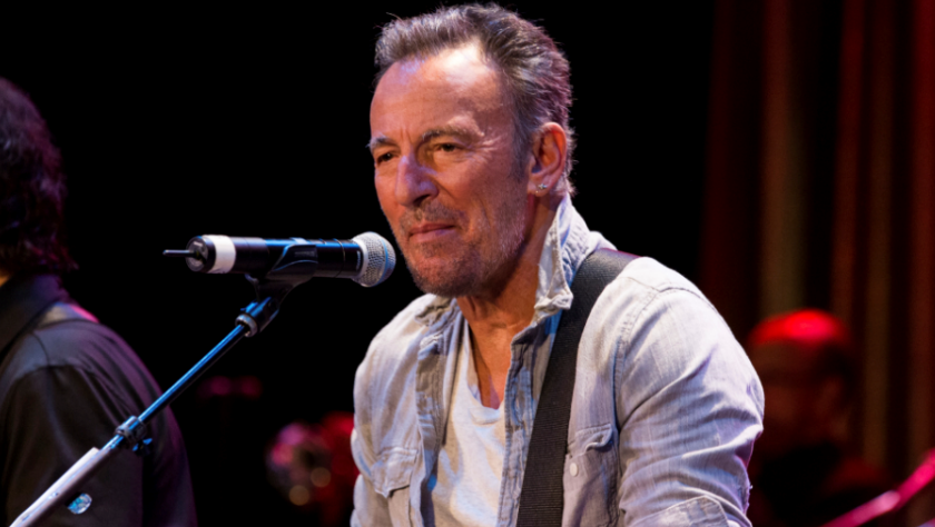 Bruce Springsteen performs at The Asbury Park Music And Film Festival at The Paramount Theater on Friday, April 21, 2017, in Asbury Park, NJ.