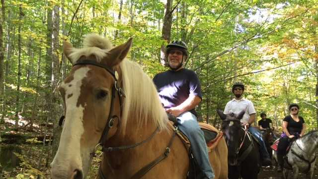 Trail rides at Castle in the Clouds