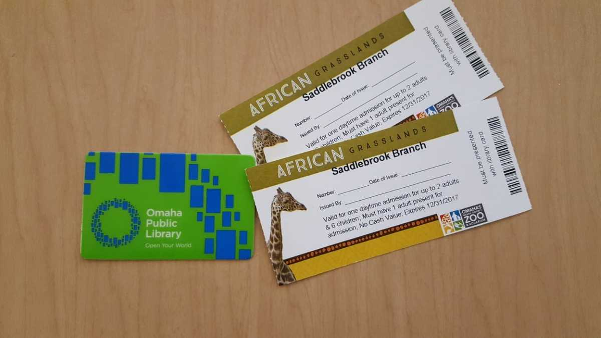 Free zoo tickets offered to local library members