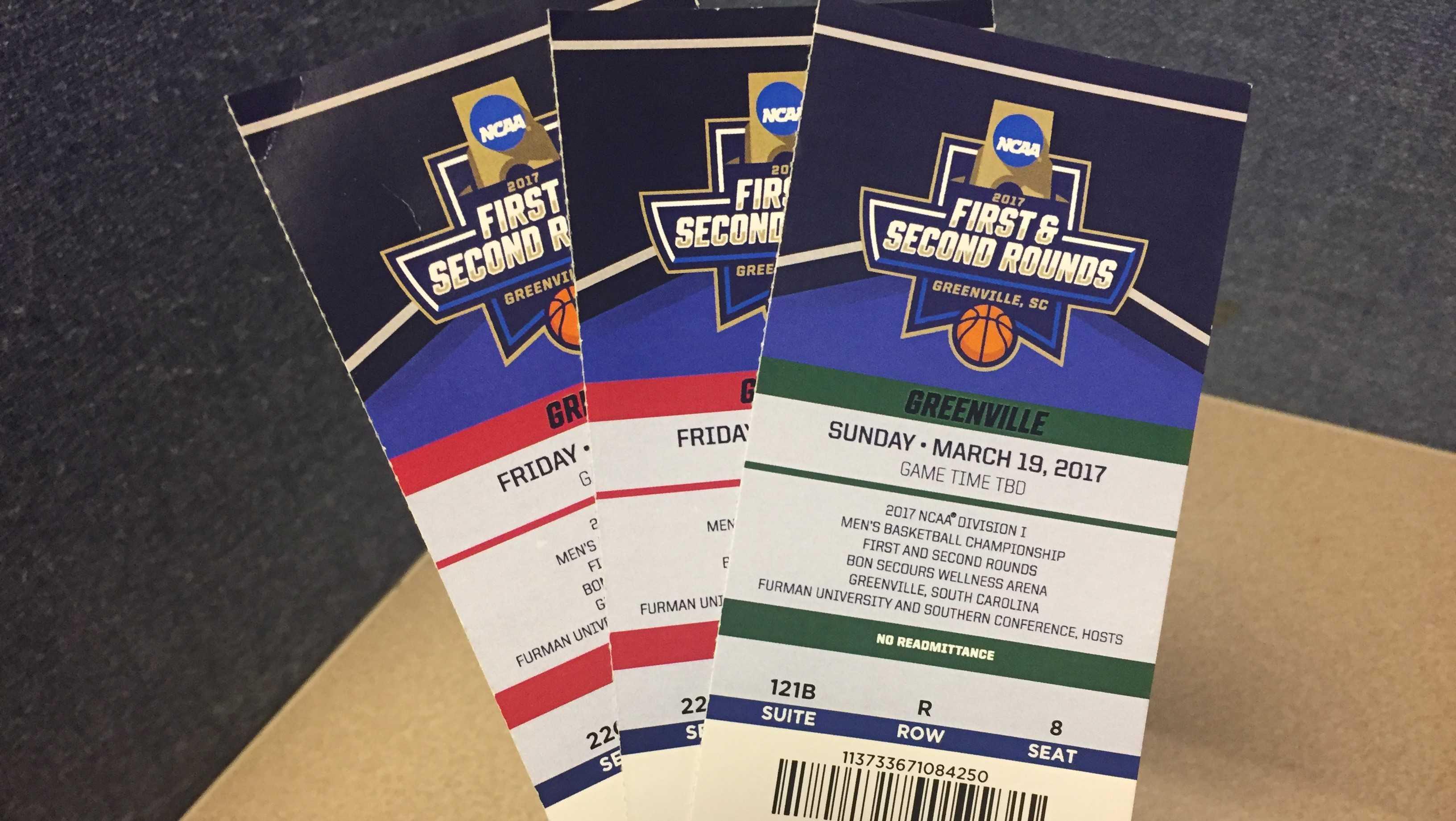 NCAA Greenville tickets