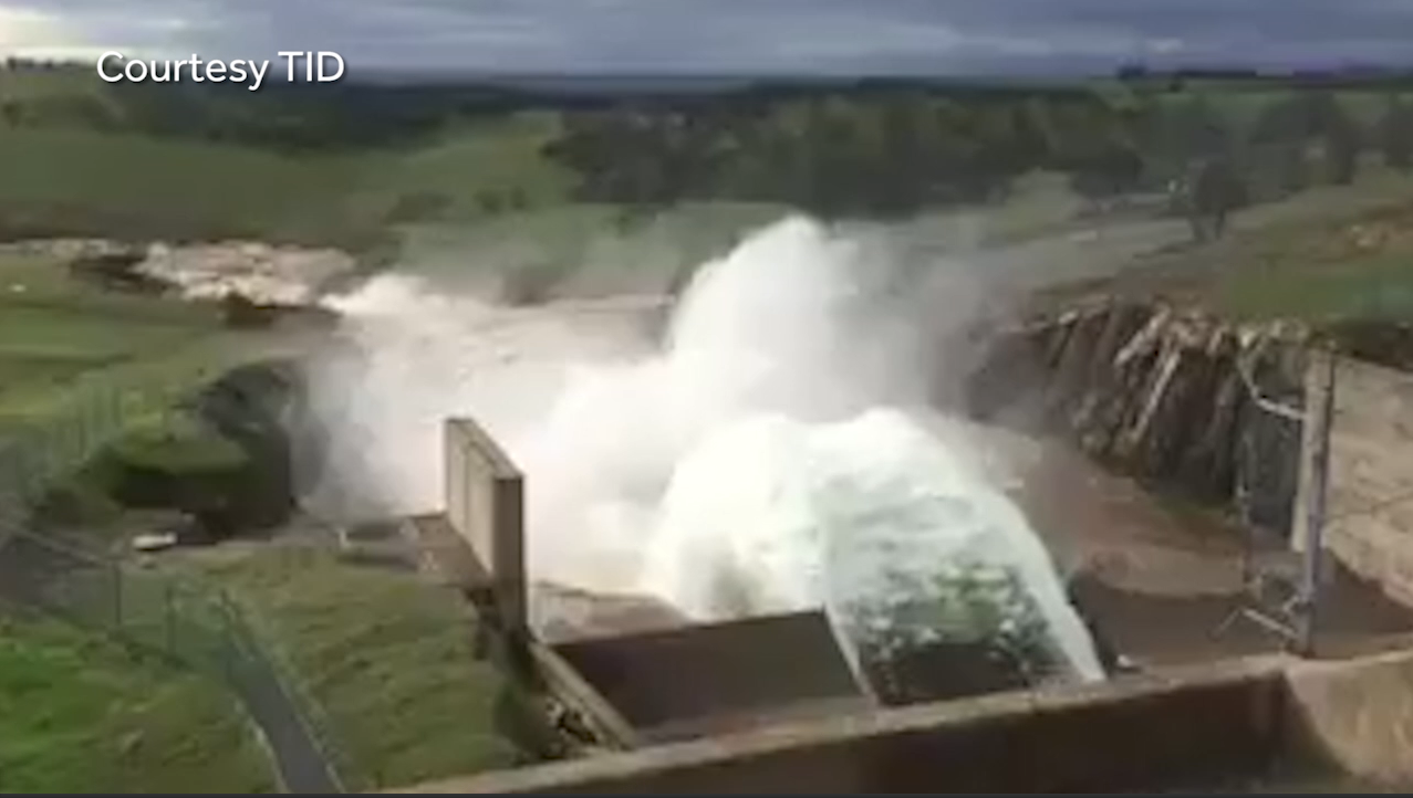 don pedro dam gates open for first time since 1997