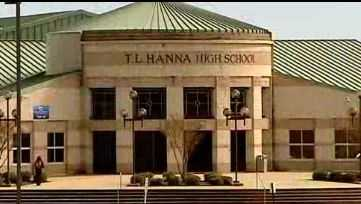 T.L. Hanna High School building