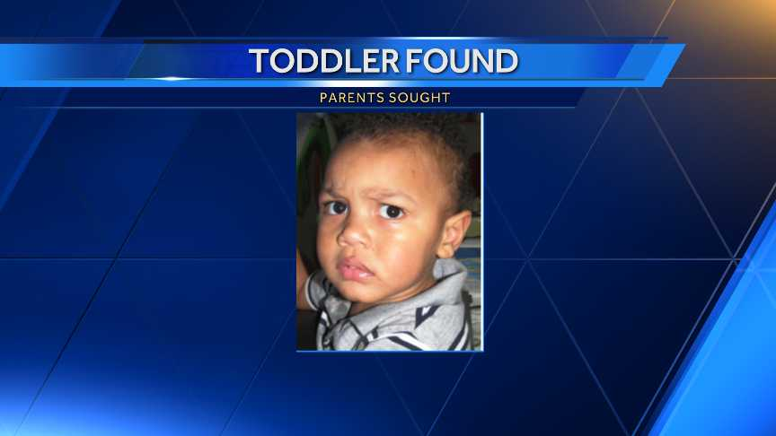 Lost Toddler in New Orleans East