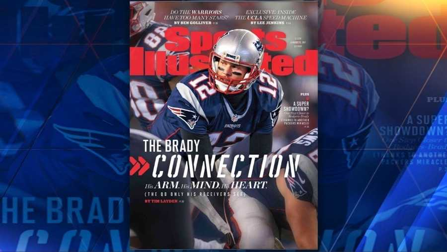 Tom Brady on cover of Sports Illustrated