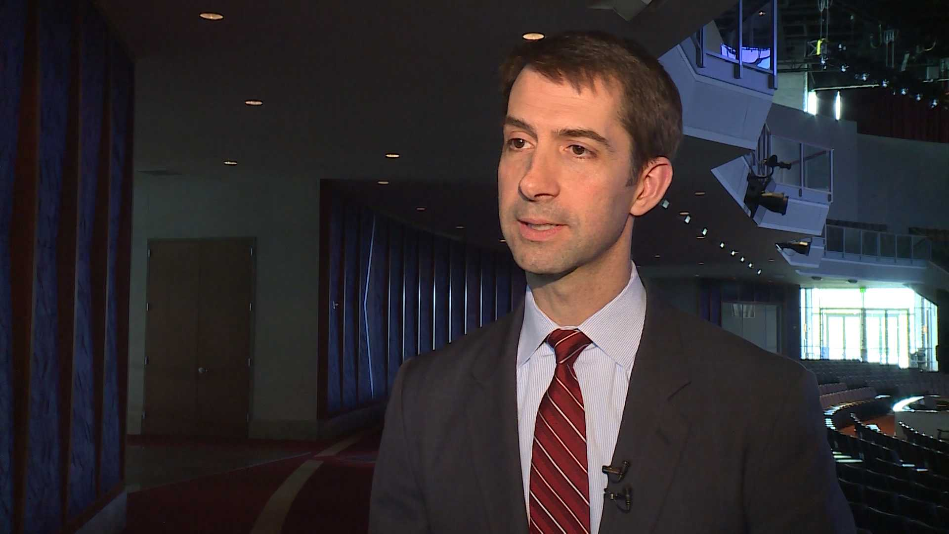 File image of Sen. Tom Cotton