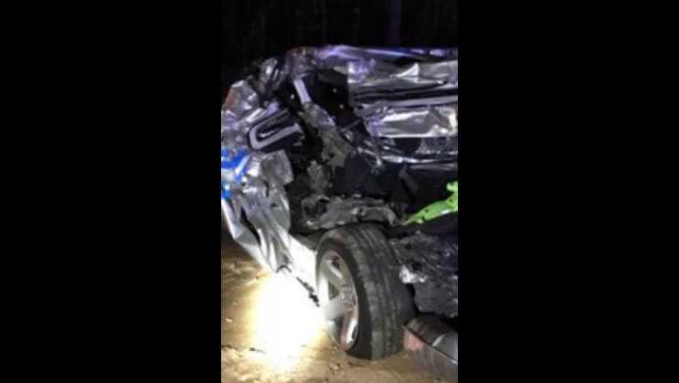 Trooper injured in crash