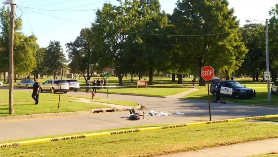 Topeka police shooting, September 2017