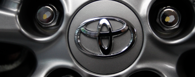 The Toyota Motor Corp. logo
