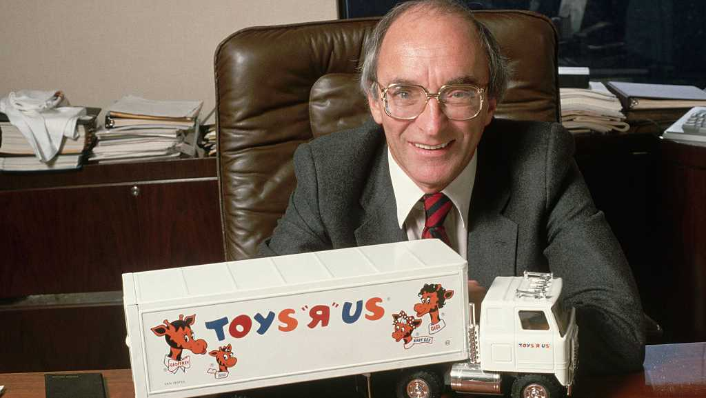 "Toys ""R"" Us founder Charles Lazarus"