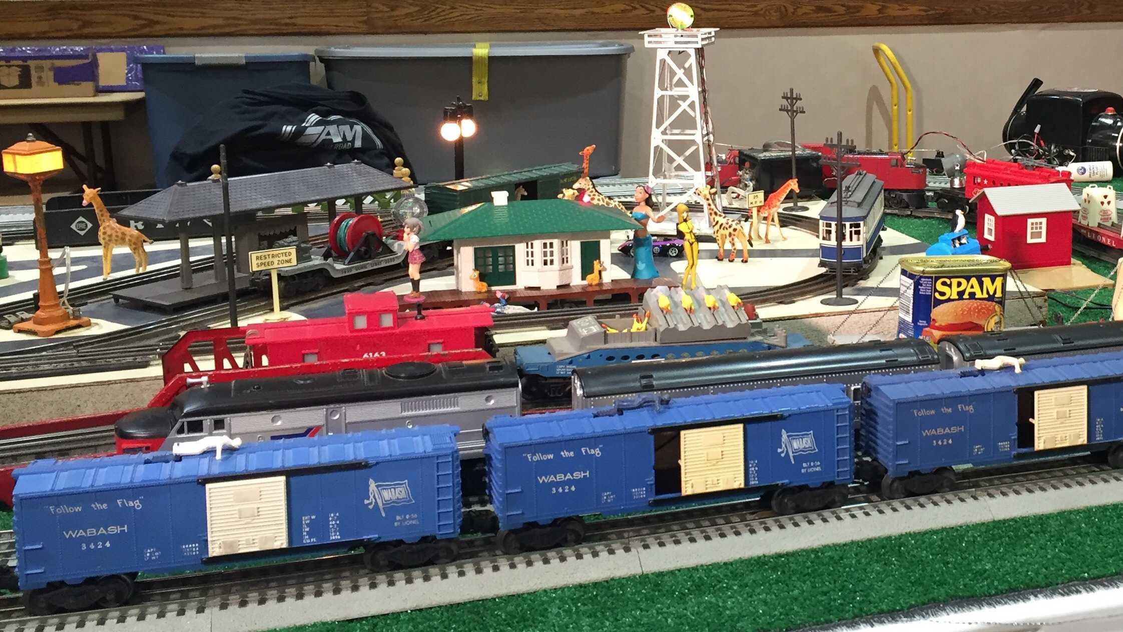 NWA Train Show
