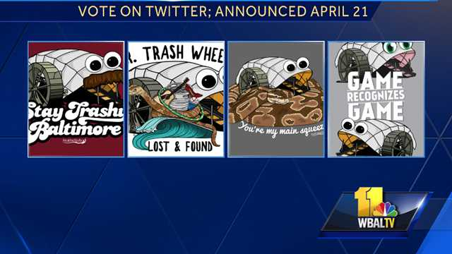 Mr. Trash Wheel shirts