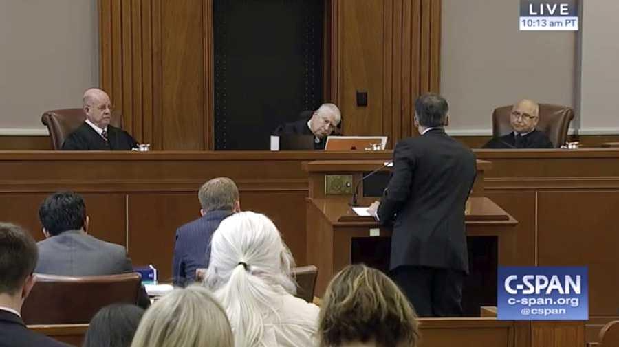 Judges Travel Ban Court Hearing