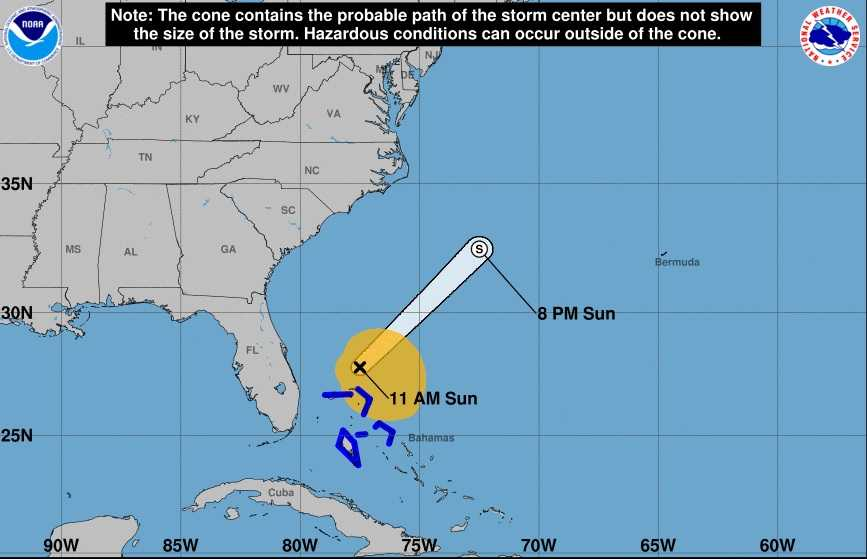 Sun City Florida Map.Tropical Storm Philippe Races Away From Florida After Bringing Heavy