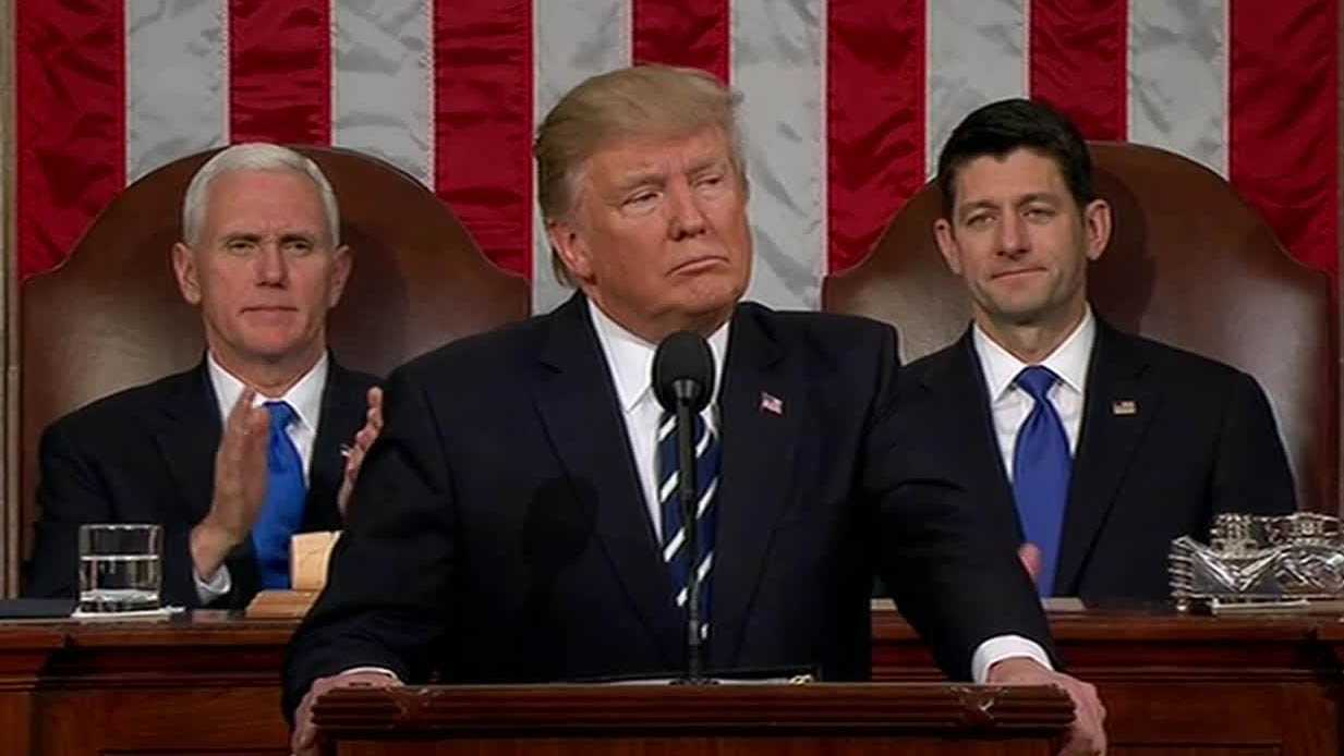 President Trump's 1st address to congress