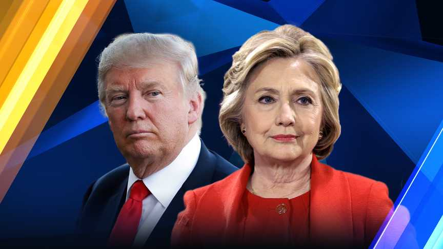 a report on the presidential debate between donald trump and hillary clinton Like a movie with a surprise ending, sunday night's debate between hillary clinton and donald trump ended on a civil, complimentary note after 90 minutes of brutal, often sharply personal attacks.