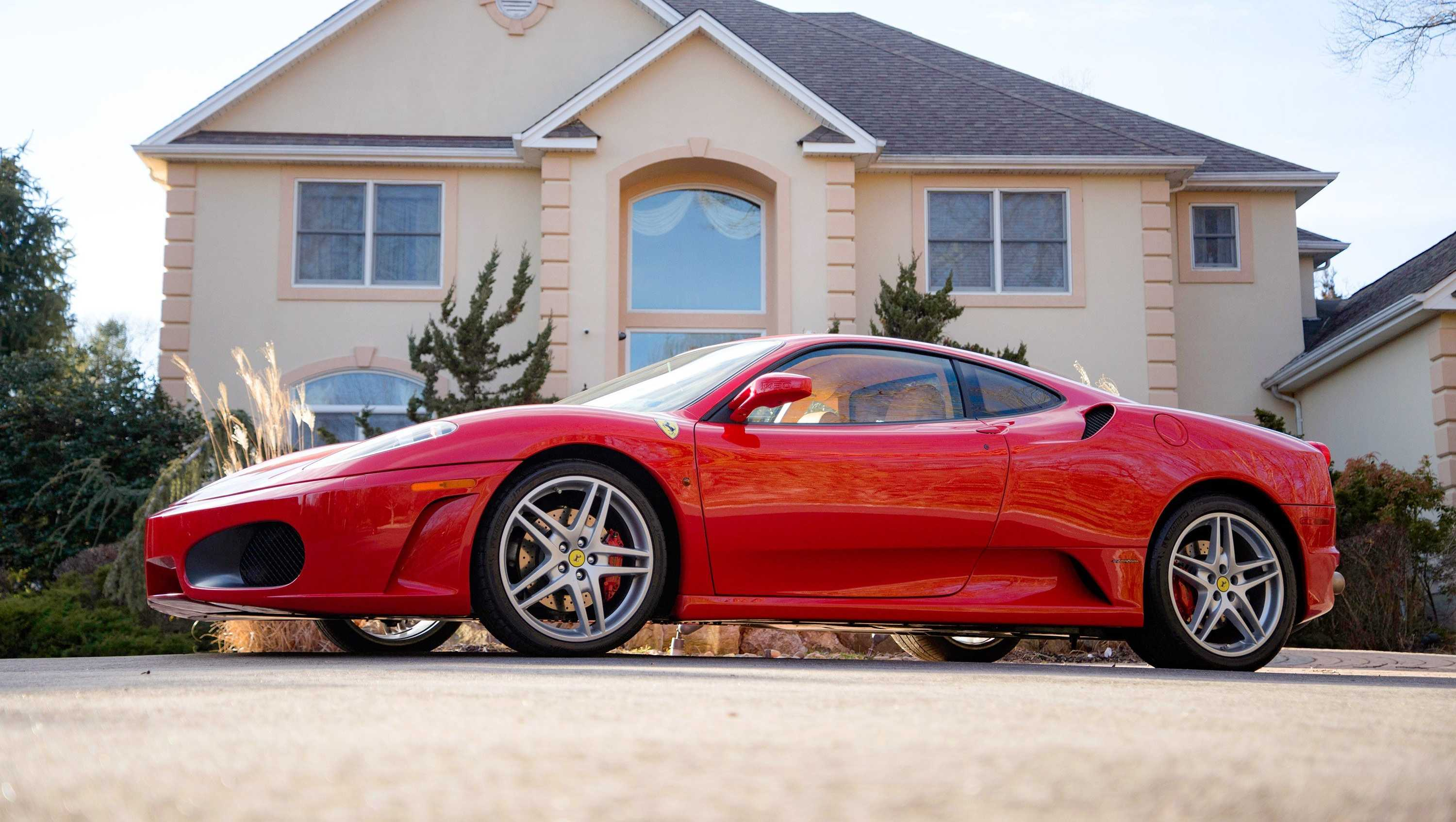 A Ferrari formerly owned by President Trump is hitting the auction block next month. It's expected to fetch $250,000 to $350,000 at Auctions America's Fort Lauderdale event on April 1.