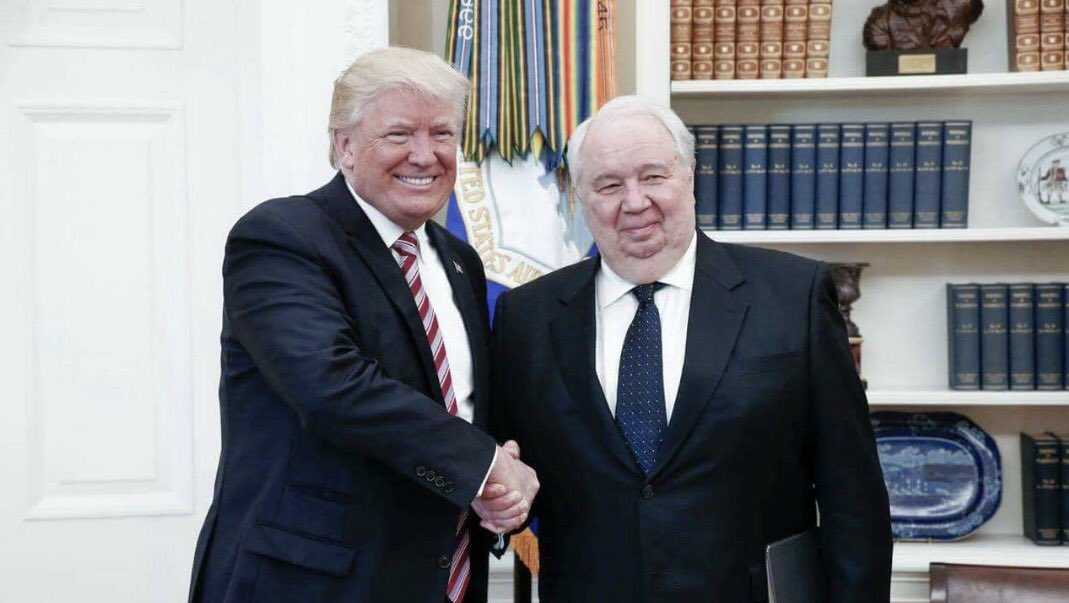 President Trump and Russian Ambassador Kislyak