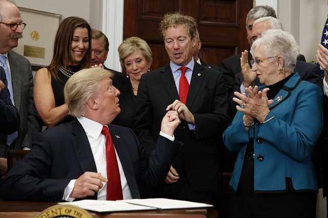 'Only the beginning': Trump signs order on health care