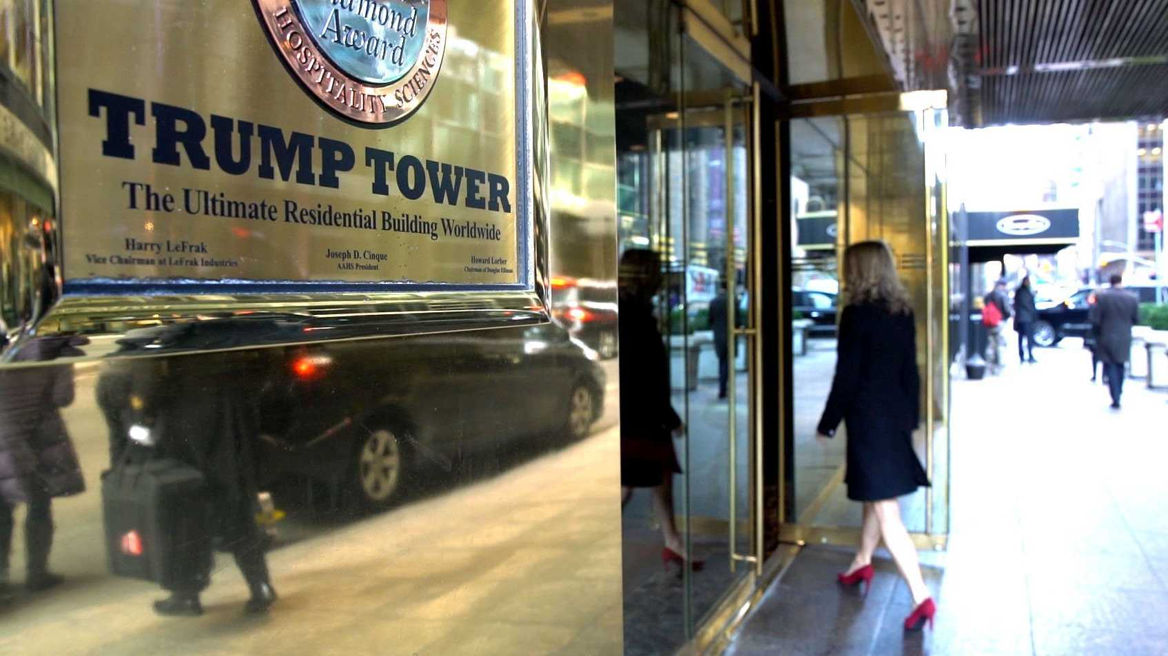 Trump Tower shown in 2016.