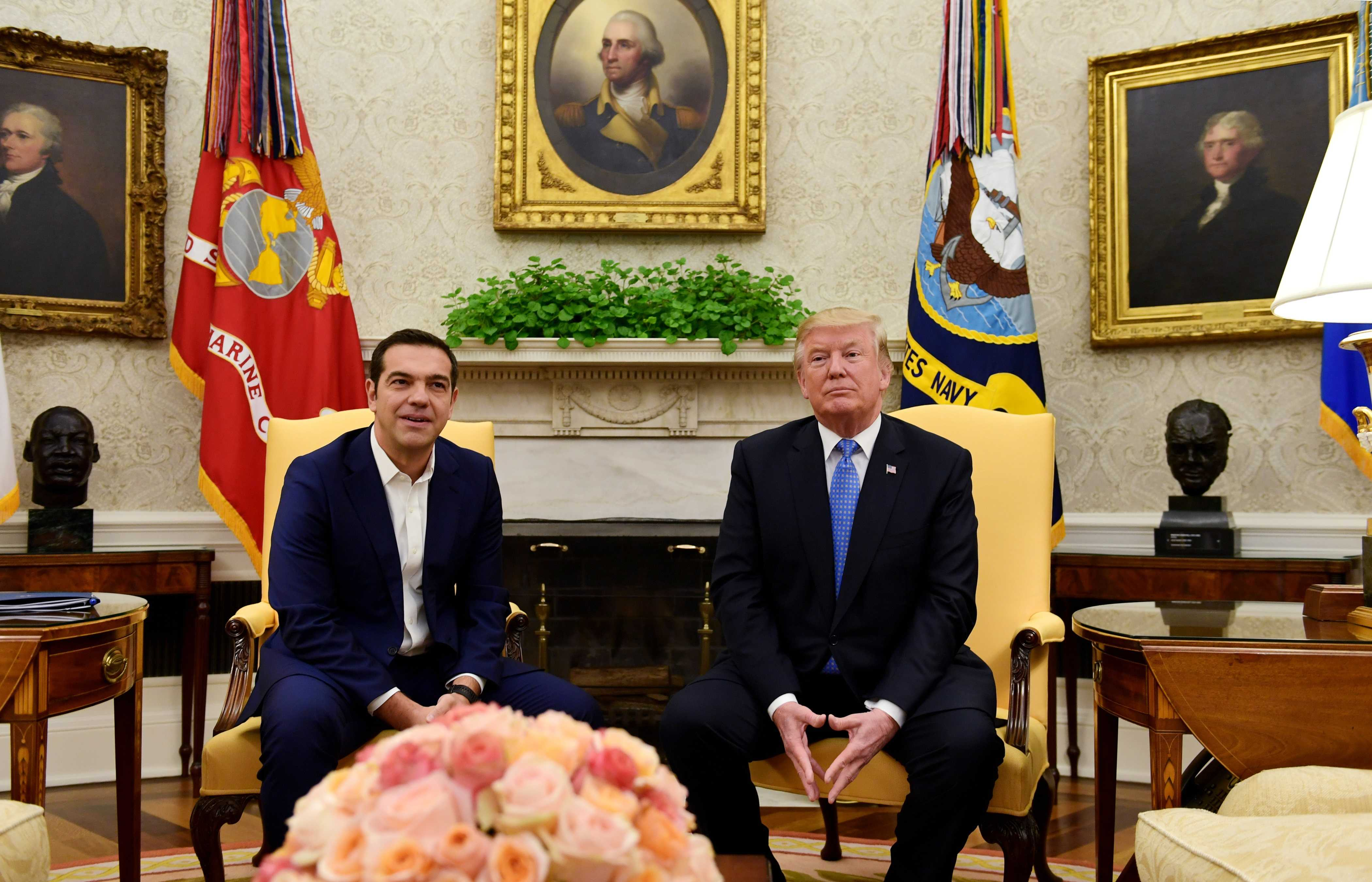 WATCH LIVE: President Trump holds joint news conference with Greek Prime Minister Alexis Tsipras
