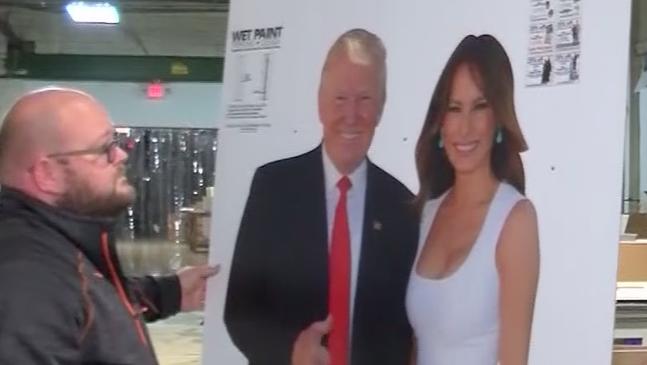 Trump cutouts