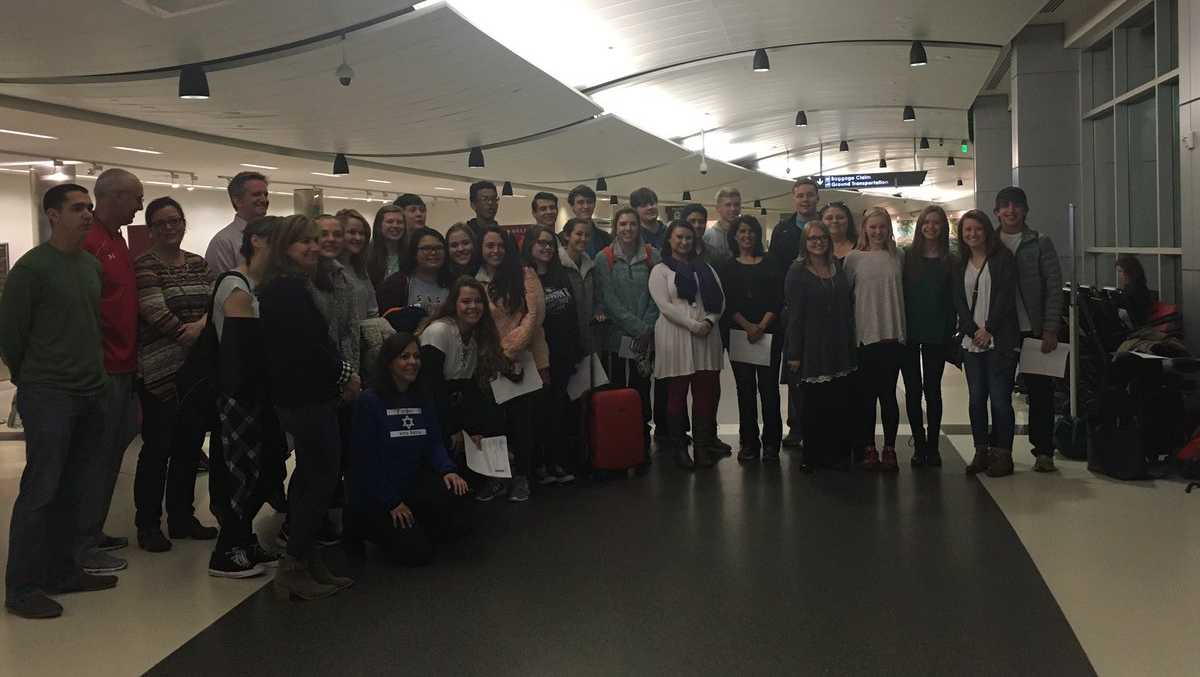 Hewitt-Trussville High School students, parents and teachers leave for the Presidential Inauguration in Washington, D.C.