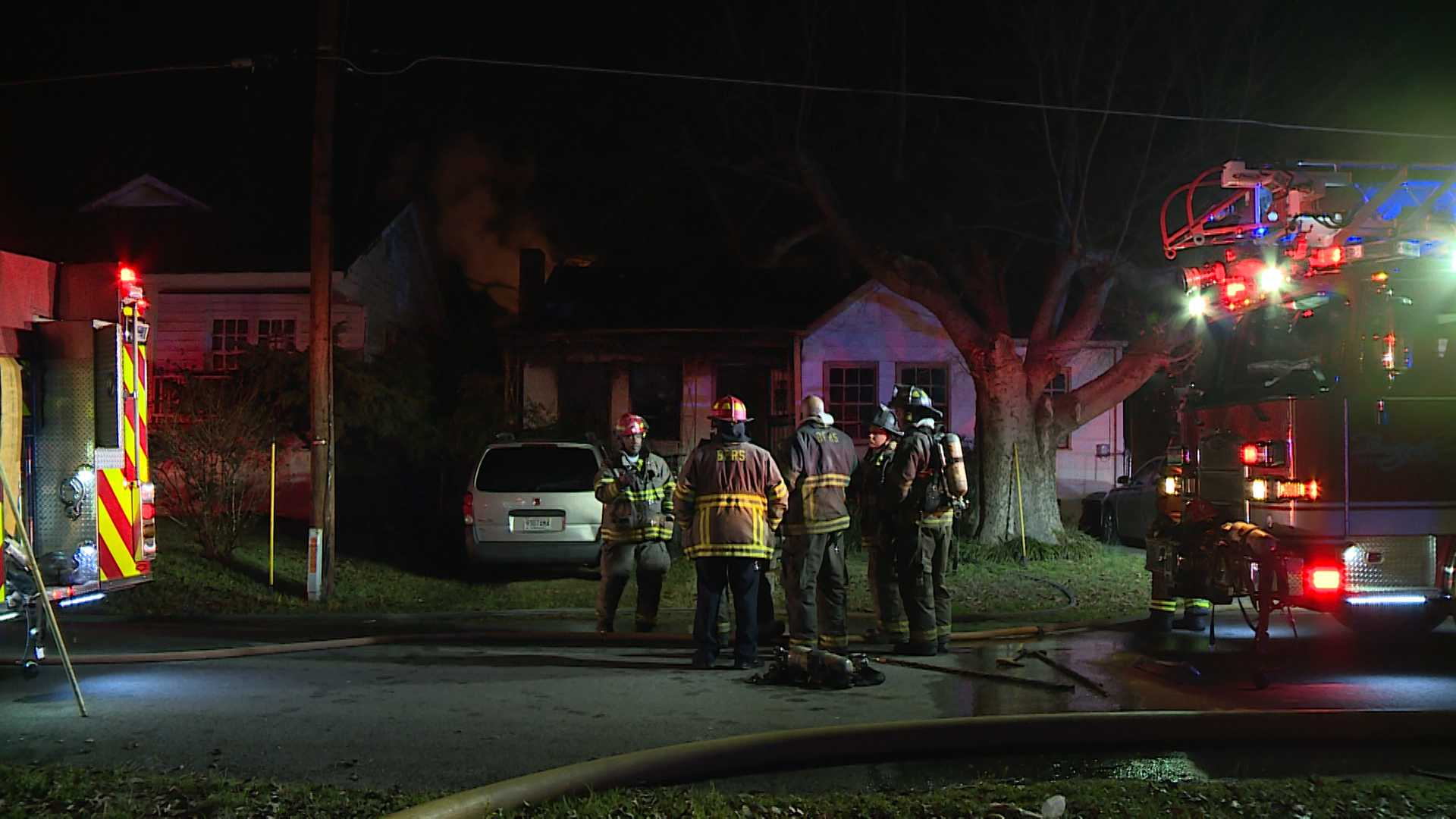 Two escape burning home in Ensley