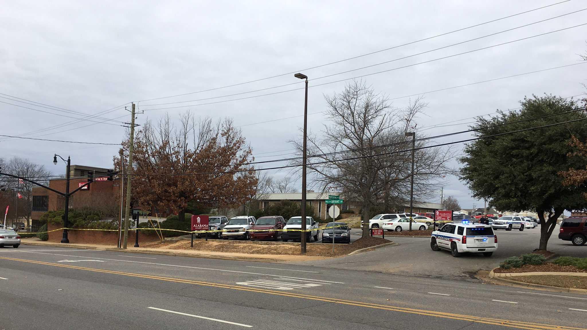 Hostage situation at Tuscaloosa credit union