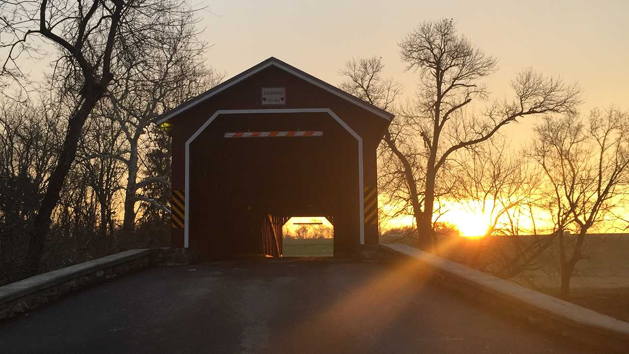 u local weather photo covered bridge