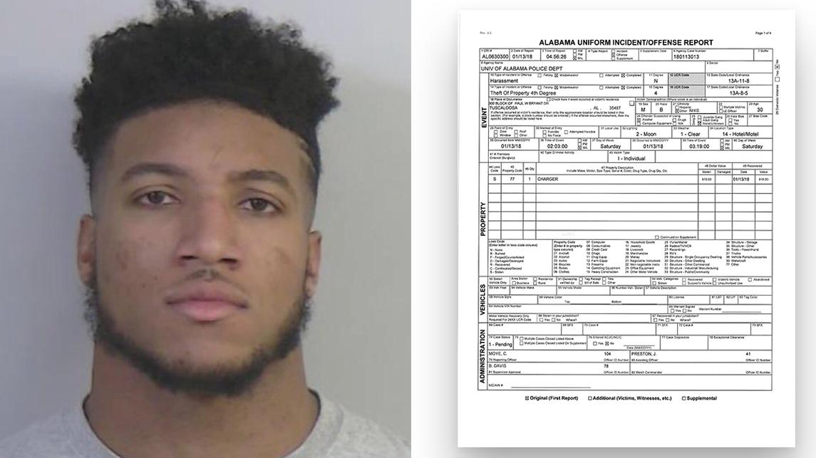 Marlon Humphrey arrested
