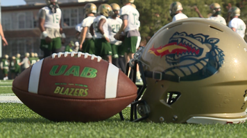 UAB football opens spring practice, Thursday, Feb. 23, 2017.