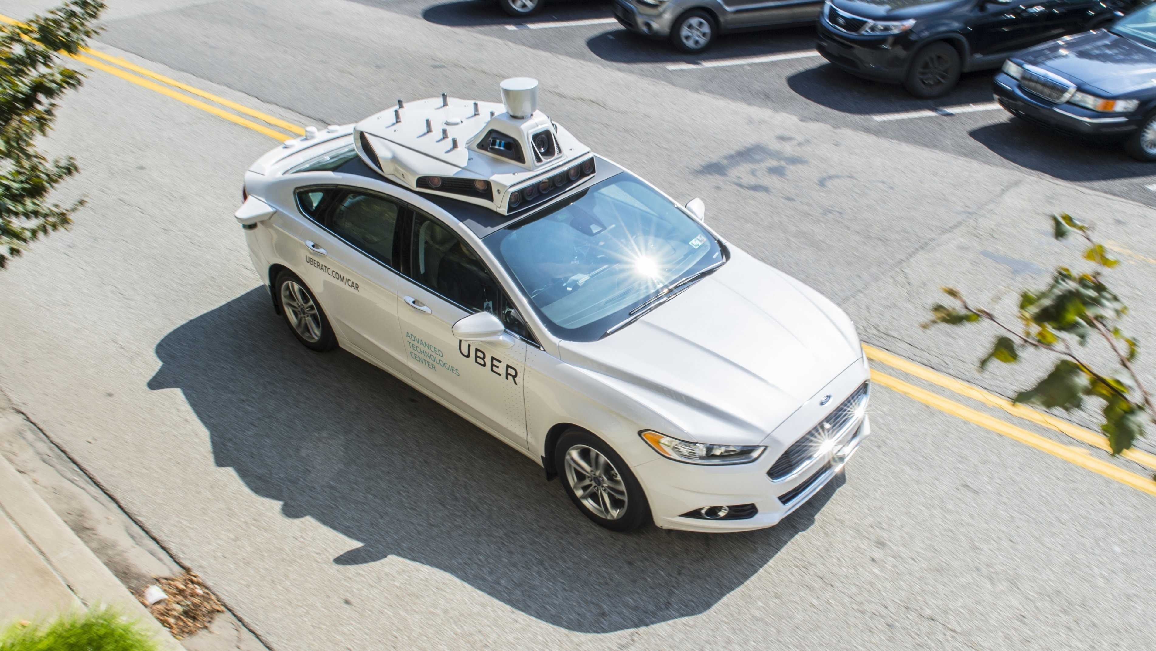 Uber's self-driving cars are hitting the roads once again in San Francisco, following a weekend crash in Tempe, Ariz. that grounded test cars in Pittsburgh and Arizona.