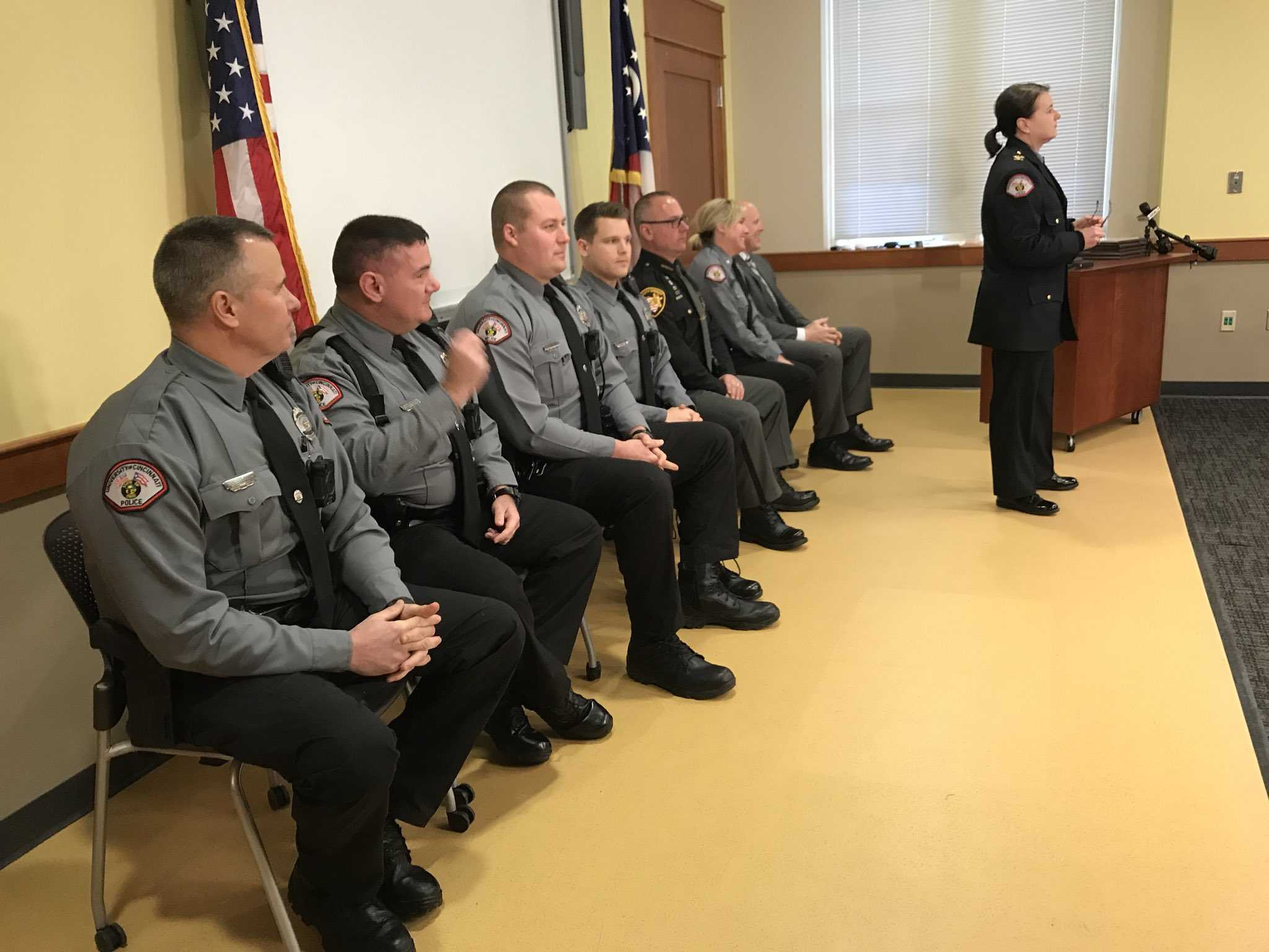 UC cops honored for saving lives, solving cases