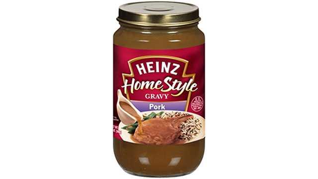 recalled Heinz gravy