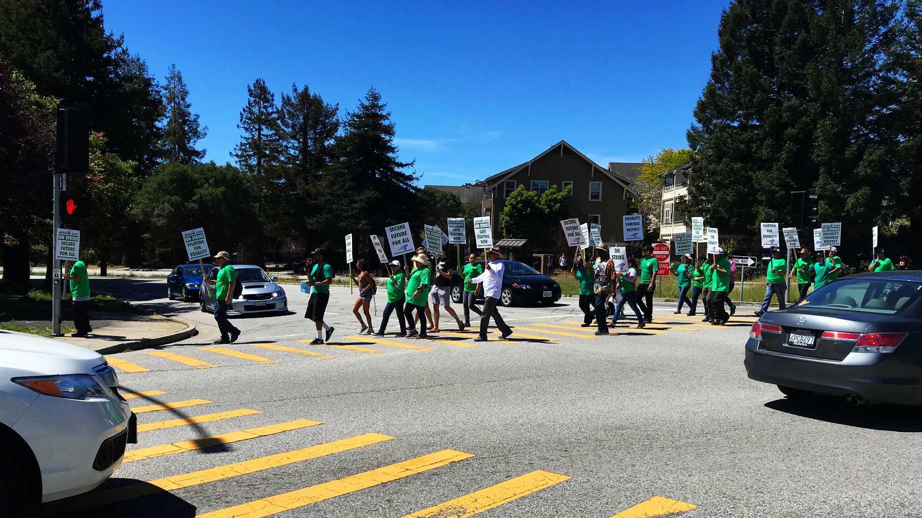 UC Santa Cruz strike